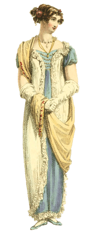 evening dress 1813